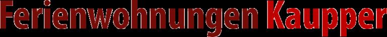 Logo Ferienwohnungen Kaupper