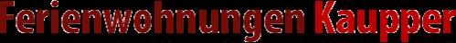 Logo Ferienwohungen Kaupper